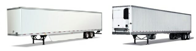 Refrigerated and Non-Refrigerated Trailers
